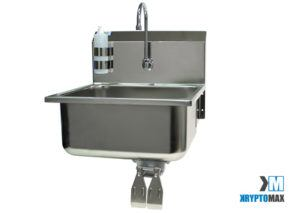KryptoMax® Detention Kitchen Wash Sink